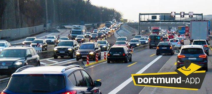 Autobahn Verkehrsmeldung