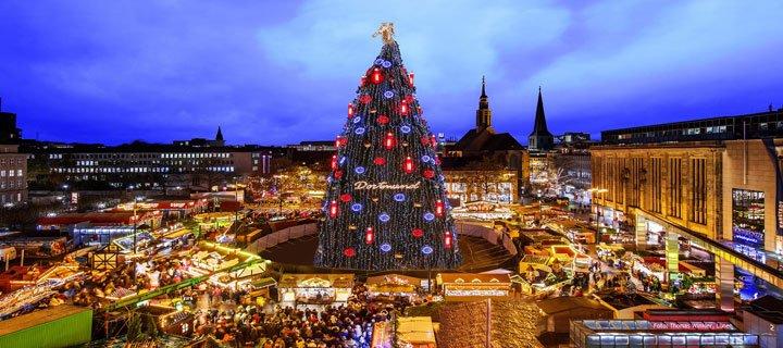 Wo Ist Weihnachtsmarkt Heute.Dortmunder Weihnachtsmarkt Buden öffnen Bereits Heute Am 22